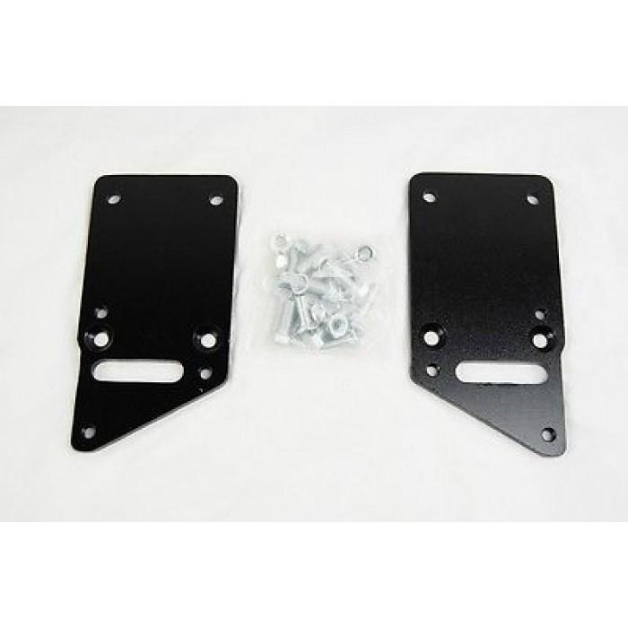 "1"" Set Back Engine Mount Adapter Plates For LSx LS1 LS2"