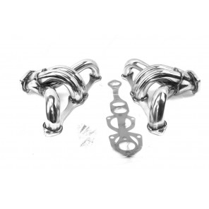 SBC Stainless Steel Headers Exhaust Manifold Manifold Chevy GMC Small Block Hugger Header 327 305 350
