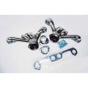 348 409 Stainless Chevy GM Block Hugger Shorty Headers v8 by Racing Innovation and Supply