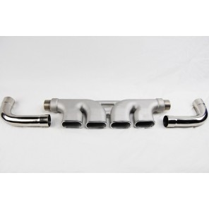 CME Center Mount Quad Tip Exhaust Kit 1993-02 Camaro Z28 SS by Racing Innovation and Supply