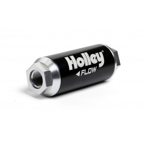 Holley 162-572 Billet 4500 Fuel Filter -12an 100 Micron 260GPH