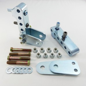 UPR 8.8 Ford Adjustable Lower Shock Mounts for Standard Shocks