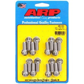 ARP 12 pt Stainless Steel Header Bolts Hex Head 3/8-16