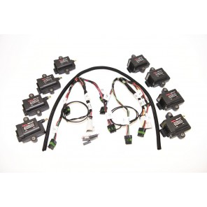 Holley 8 Cylinder Smart Coils Kit w/ Coil Harness HP Dominator