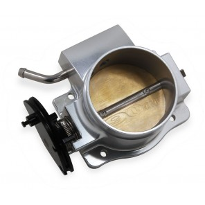 Sniper EFI Throttle Body 90MM Coyote Ford Throttle Body Silver 2011-2014 Ford Mustang 5.0L