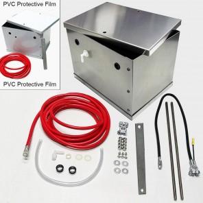 UPR Aluminum Battery Box Kit