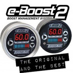 Turbosmart eBoost2 eB2 60mm Black Face and Bezel Boost Controller
