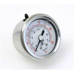 Turbosmart 0-100psi Liquid Filled Fuel Pressure Gauge