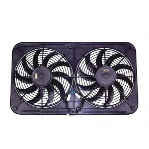 Maradyne High Performance Fans MJS26K Jetstreme II Series Low Profile Dual Fan
