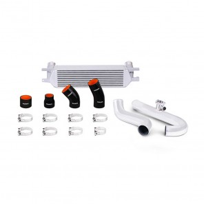 Mishimoto 2015-2016 Ford Mustang EcoBoost Polished Pipes Silver Intercooler Kit