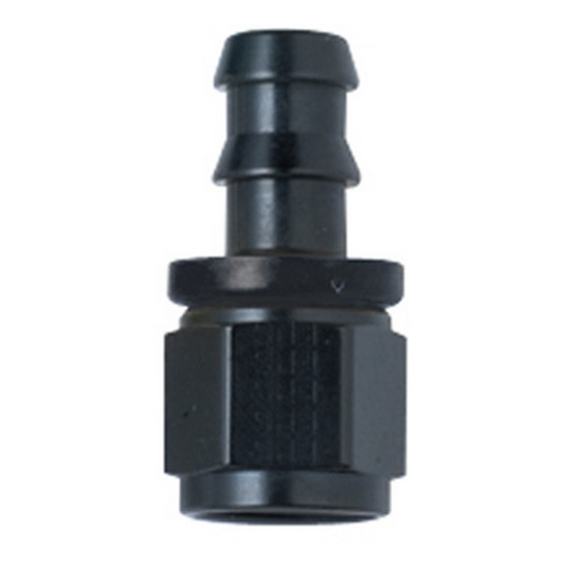 Black Push Lock Hose Ends