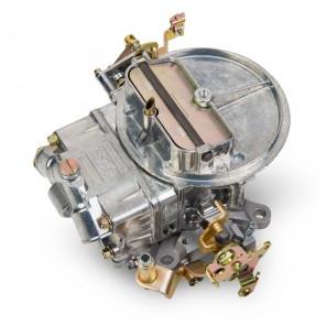 Holley 0-4412S Shiny Zinc 2 Barrel Carburetor 500 CFM w/ Manual Choke Gasoline
