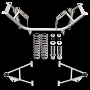 79-93 Chrome Moly K-Member Kit w/Tow Hooks