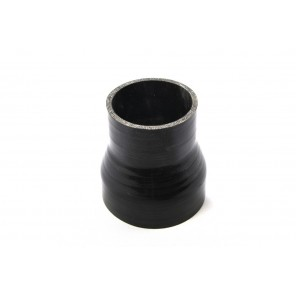 "3"" to 4"" Straight Black Silicone Reducer 63mm to 70mm"