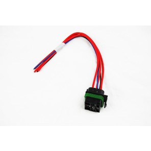 """ISO Mini Weatherproof Relay Connector with 12"""" Leads by Racing Innovation and Supply"""