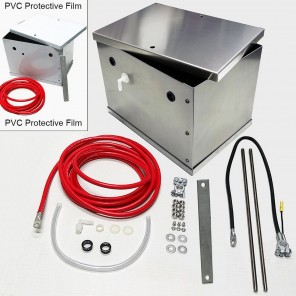 UPR Aluminum Battery Box Kit