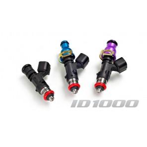 Injector Dynamics ID1000 injectors 1000cc Mitsubishi Eclipse GST GSX Evo III IV V VI VII VIII VIII IX Galant VR4 4 Pack