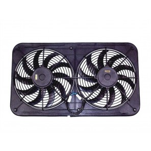 Maradyne High Performance Fans MJS26K Jetstreme II Series Low Profile Dual Fan