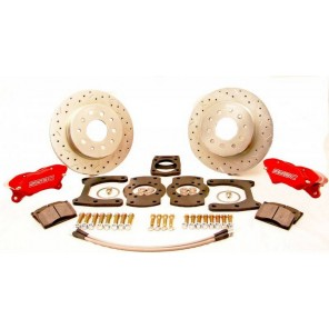 SSBC W112-27 79-04 5 Lug Mustang Front Brake Competition Race Disc Kit